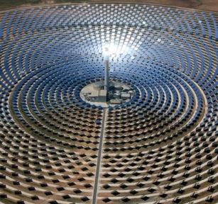 Impianti solari termici a torre centrale blog di p d 39 arrigo - Centrale solare a specchi piani ...